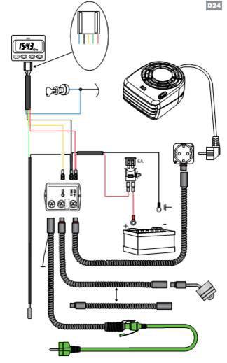 Схема установки Separ-2000 с